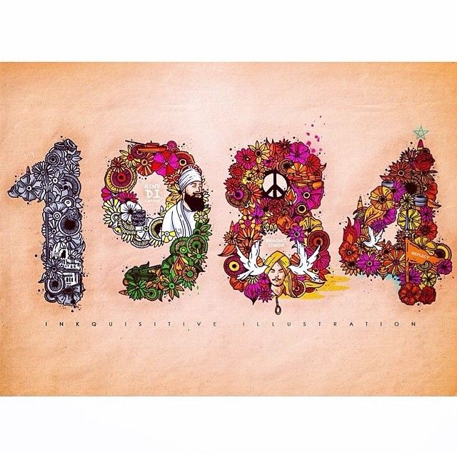 ✨1984✨ To all the innocent lives lost from Operation Blue Star... #sikhblog #feedly