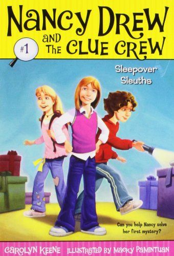 15 best early chapter books girl main character images on the nook book ebook of the sleepover sleuths nancy drew and the clue crew series by carolyn keene macky pamintuan fandeluxe Choice Image