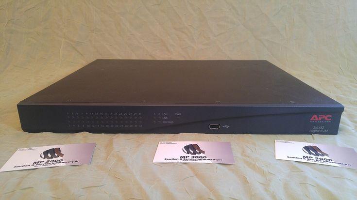 APC digital KVM 2x1x32 https://mp3000.ca/produit/apc-digital-kvm/ 4 695 $ Avec câblage 2x1x32 P/N :AP5615 CMH :1025 Contrôlez jusqu'à 32 serveurs avec ce commutateur KVM à l'aide d'un ordinateur local (PS/2 ou USB) ou de 2 PC distants. •2 ports PS/2 (clavier et souris) •1 port VGA •4 ports USB •32 ports serveurs (RJ45) •2 ports LAN, 1 port modem, 2 ports PDU •Possibilité de cascader plusieurs AP5615 selon vos besoins •Support multi plateformes •Contrôle des utilisateurs Usagé…
