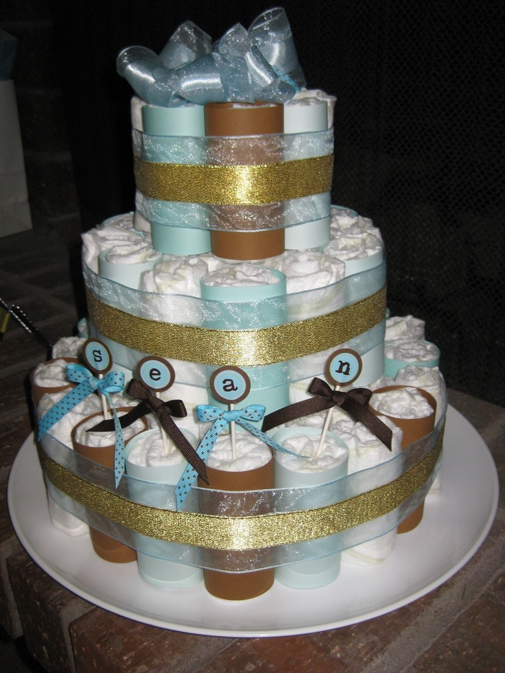 Cake Centerpieces For Baby Shower