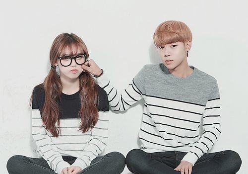 #cute #couple #ulzzang ♥