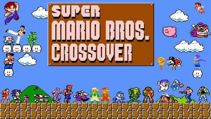 Play game Super Mario Bros Crossover 3