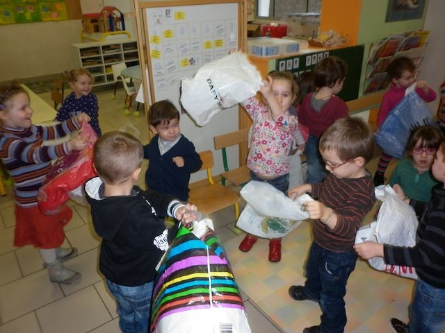 Ecole Maternelle Publique d'Epeigné-les-Bois - L'air séance 2
