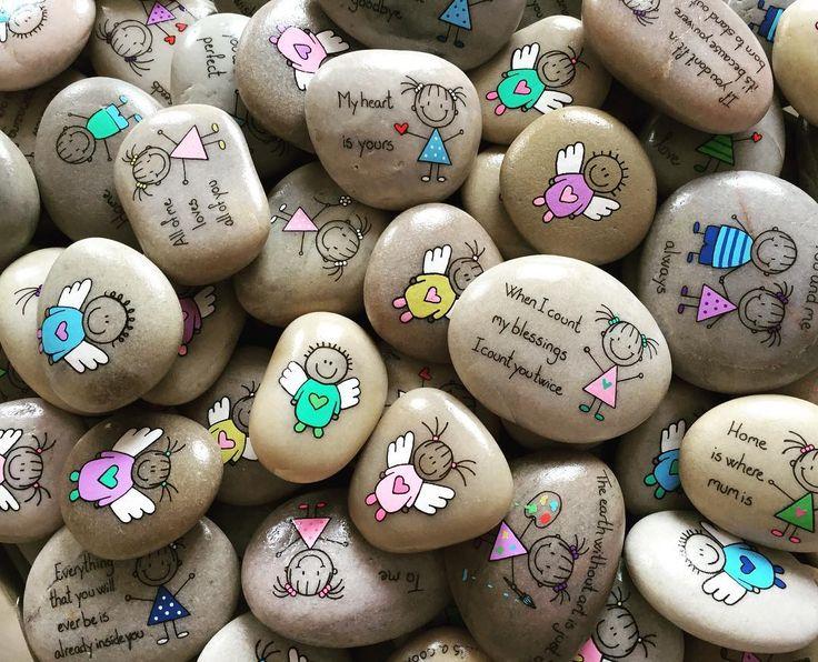 #angels #angelwings #angelkids #artrocks #artstone #artstones #engel #englevinger #handmade #happyrocks #happystones #indtaart #instaartist #iloverocks #loverocks #malesten #naturerocks #naturestone #naturepainting #pebbleart #paintedstone #paintedstones #paintingrocks #paintingstone #rockart #rocksrock #rockpainted #rockkindness #rockpainting #dailyartistiq