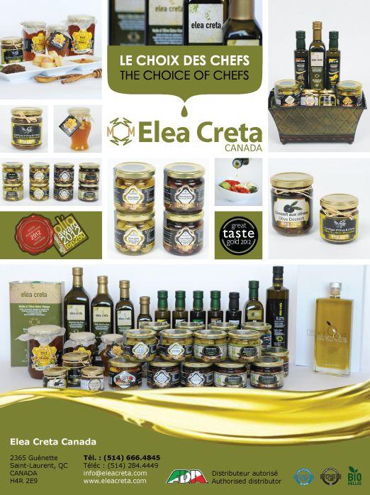 Les produits Elea Creta, trouvez un détaillant ou un distributeur autorisé sur notre site Web