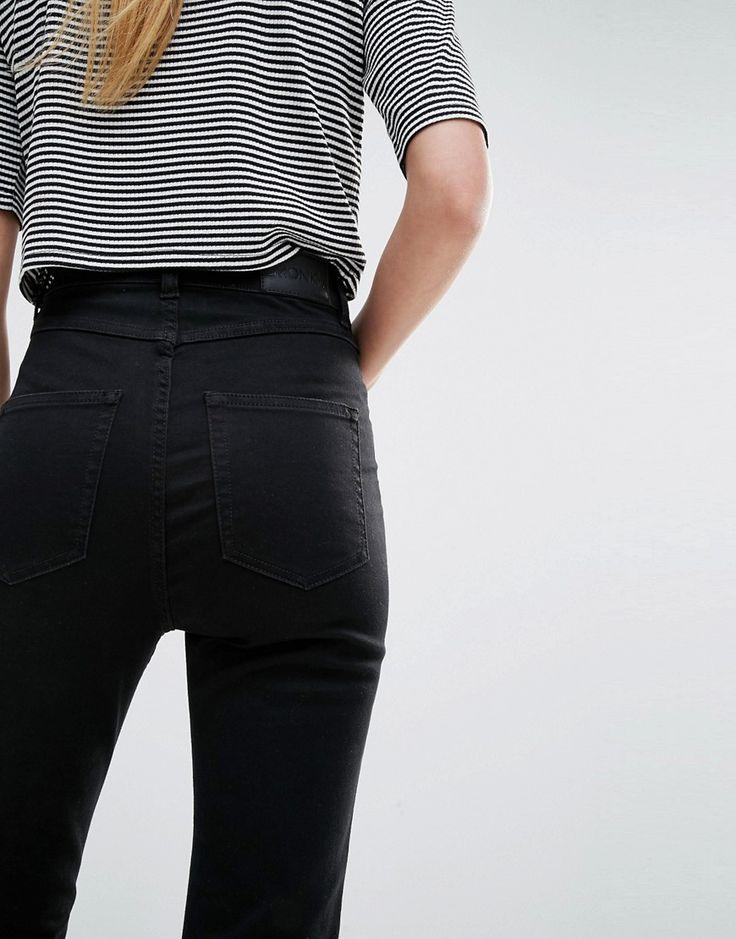 Изображение 3 из Облегающие джинсы с завышенной талией Monki Oki Deluxe