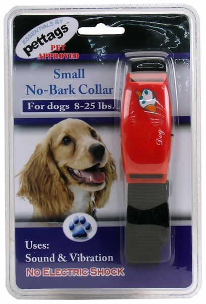 Pettags No Bark Dog Collar ($18.99) is a gentle yet effective way to reduce excessive barking in a humane way. Each collar comes with 2 correction modes. Vibration mode gives you a choice of settings which allows you to control the correction. You also have a sound mode that releases a high frequency sound that deters your dog from barking. Both methods are very humane in that NO electrical shock is used.
