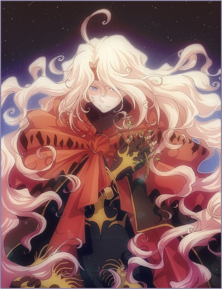 Tales of Phantasia fanart - Dhaos >< ----------- liner, SAI, Photoshop Комп.покраска для м&#107...