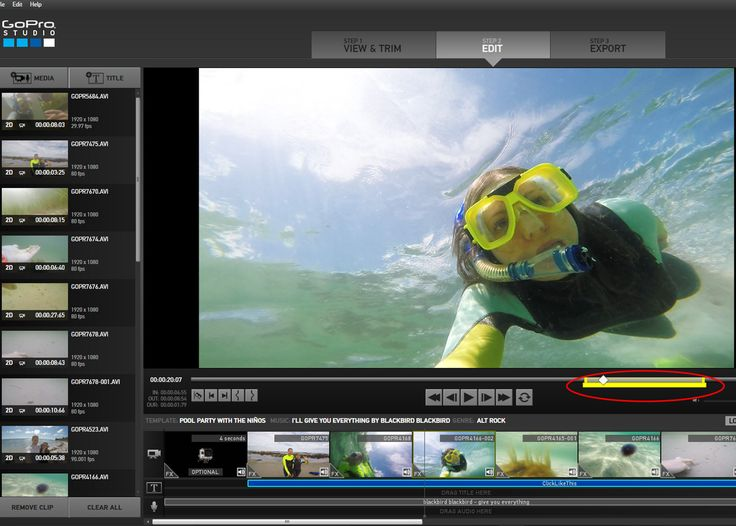 In this detailed tutorial, learn how to use GoPro edit templates in GoPro Studio. Create awesome edits in just a few minutes with GoPro edit templates.