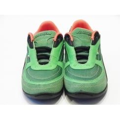 Boys Green Casual Shoes - Lamborghini Race One  Lace Up Trainer With Memory Foam Insole