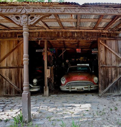 Garage Design Cool Garages: 1000+ Images About Cool Hot Rod Shops On Pinterest