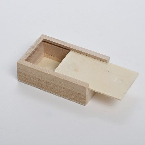 Plain Wooden photographers USB or photo / Wedding photograph box - Wooden Brush & Pencil Cases Boxes - Plain Wooden Boxes | The Wooden Box Mill