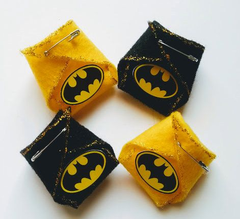 Batman Baby Shower Party Favor by DiamondsCraftsnmore on Etsy