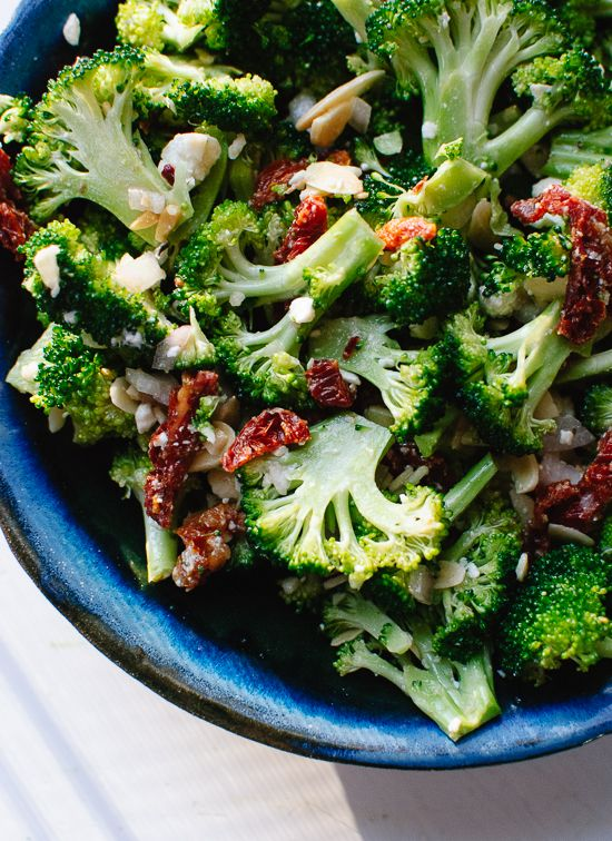 Simple and delicious Greek broccoli salad recipe - cookieandkate.com