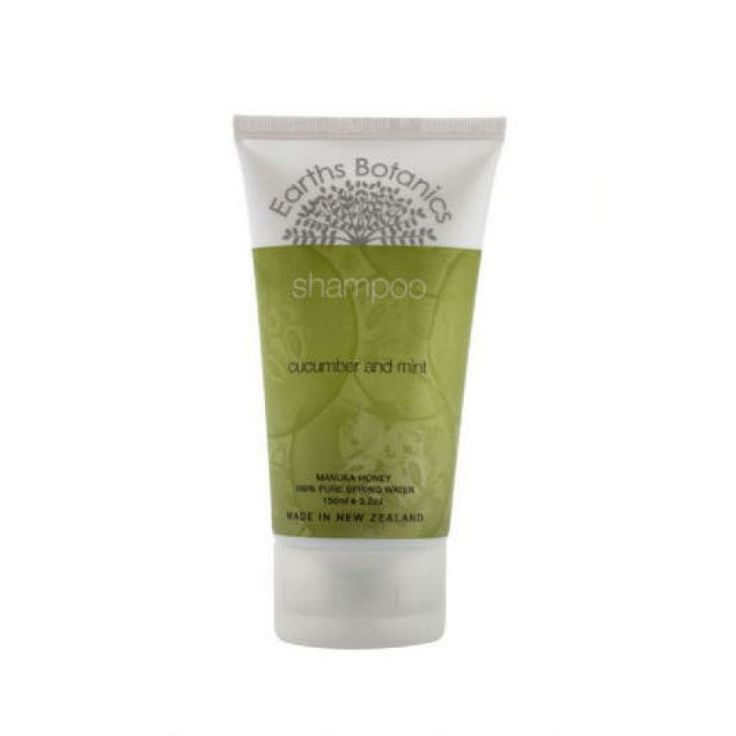 Earths Botanics Shampoo with Cucumber and Mint
