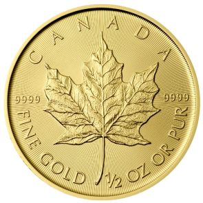 2015 Canadian Gold Maple Leaf Coins - 1/2 oz. | goldankauf-haeger.de