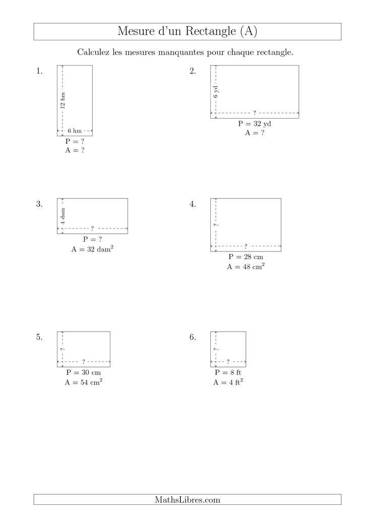 Nombres entier et longueur 4ème Mathématiques