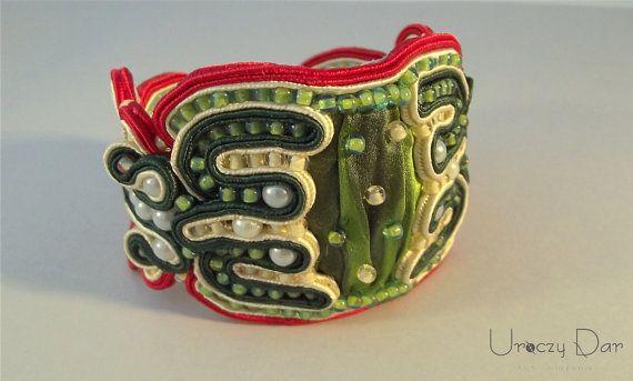 Soutache Bracelet - Without time