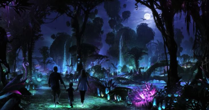 #world #news  Disney is building an 'Avatar' theme park and it looks unreal