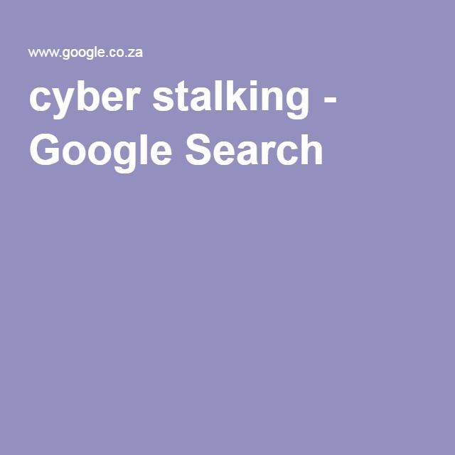 """Cyber Stalking:  """"Cyber stalking is a criminal practice where an individual uses the Internet to systematically harass or threaten someone. This crime can be perpetrated through email, social media, chat rooms, instant messaging clients and any other online medium"""" (Technopedia, 2016)."""