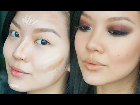 How to Contour (Plus great tips for Asian features) ................................................... Pretty & Fierce http://pinterest.com/marria1/pretty-fierce/