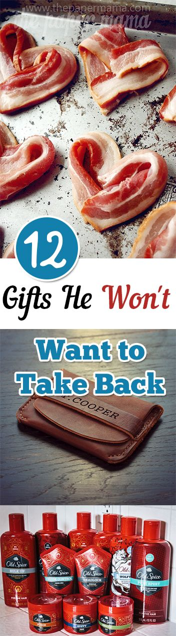 12 gift ideas so clever that he won't even dream of returning them!