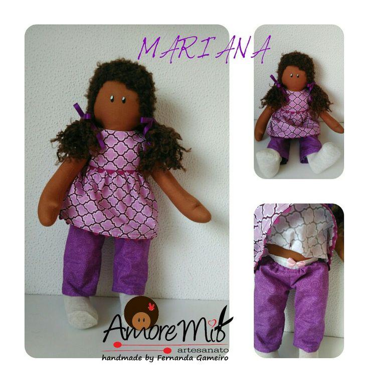 """Boneca/doll """"Mariana"""""""