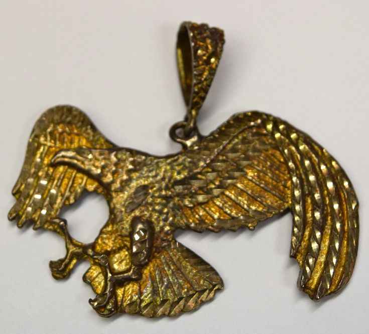 Vintage Silver Eagle Pendant