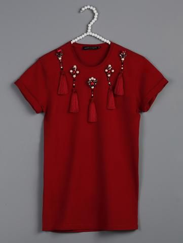Red fringe t-shirt https://www.kiveranaynomis.com/collections/t-shirts/products/1414