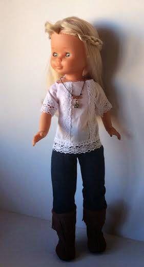 """Vestidos Para Nancy """"El Costurero De Chus"""": Modelo Sara"""