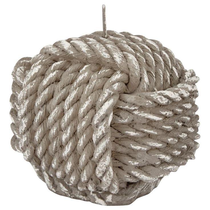 Chandelle ronde avec motif tricoté/CHANDELLES/DÉCO/DÉCO|Bouclair.com