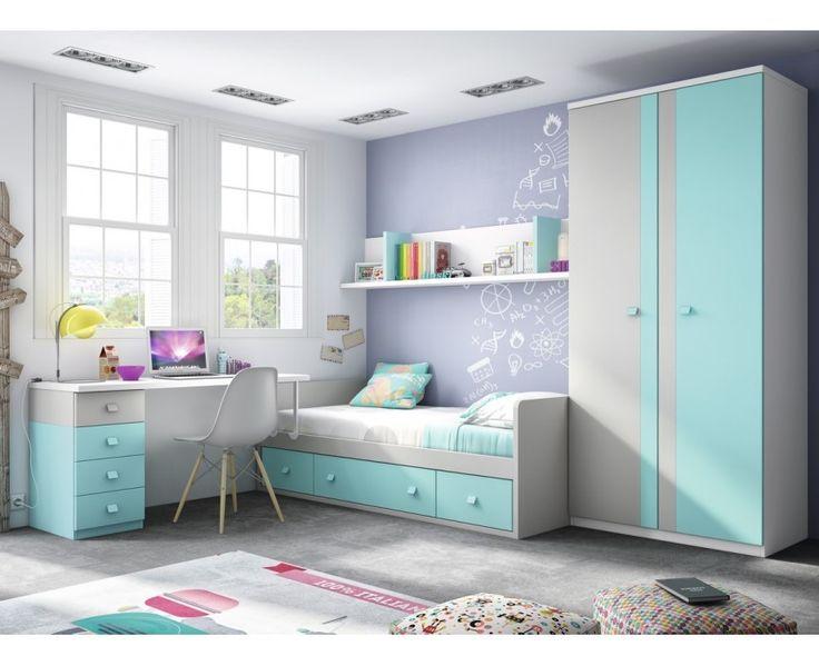 Dormitorio Juvenil Modelo Torrente 5