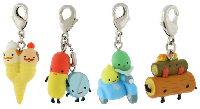 Aaron Meshon zipper pulls - so cute on kids' jackets or backpacks. Love.