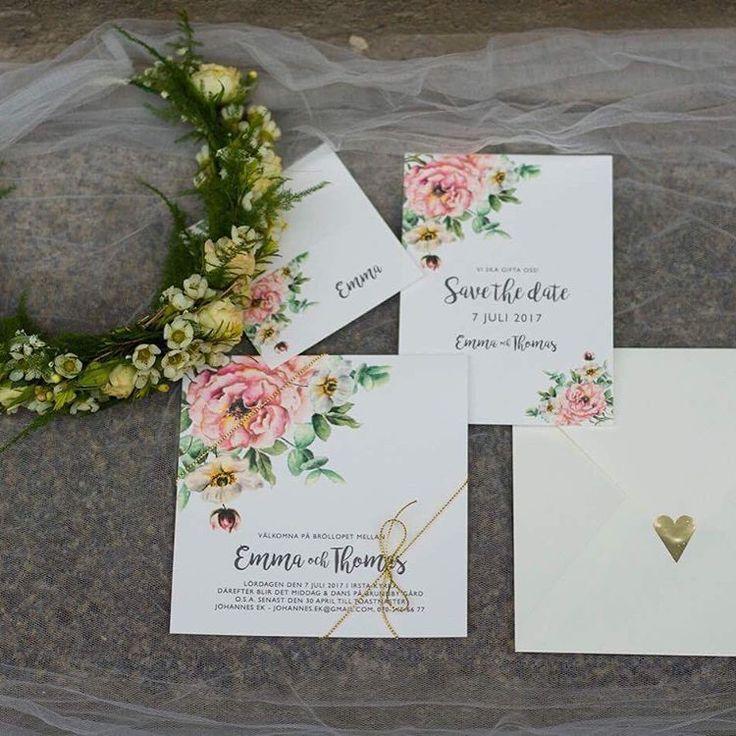 Trycksaker till bröllop - Pastell II vibrant. Foto: @fotograf_malin_norlen #trycksakerbröllop #inbjudningskort #bröllopsmeny #bröllopskort #bröllopsinspo #bröllopsinspiration #bröllopsinbjudan #placeringskort #savethedate #sparadatumet #weddingststionary #personligatrycksaker #personligainbjudningskort #akvarell #illustratör #personligillustration #sommarbröllop