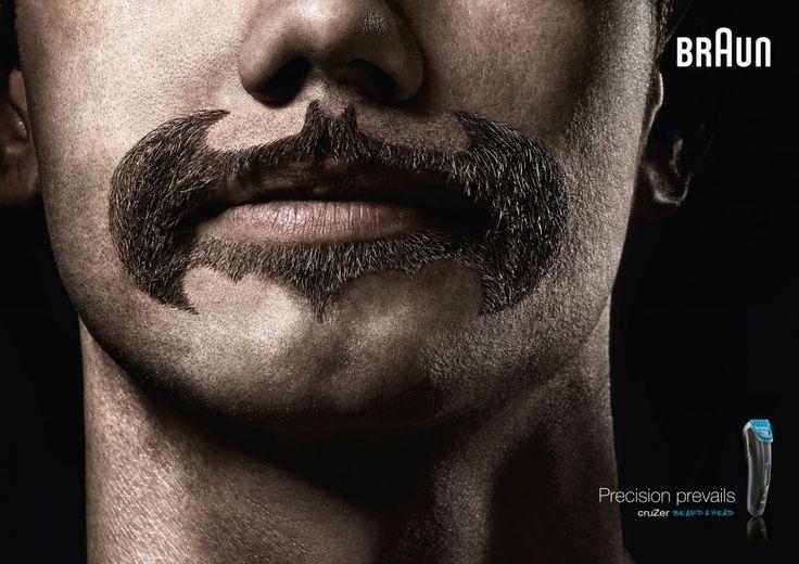 Superheroes Beard and Mustache by Braun Cruzer Trimmer :http://www.designnex.net/superheroes-beard-and-mustache-by-braun-cruzer-trimmer/