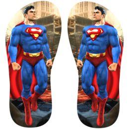 Estampa para chinelo Superman 001126