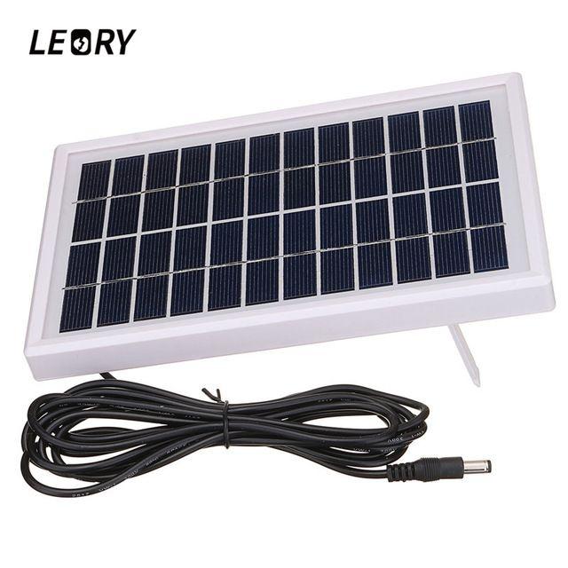 Leory 3w 12v Polycrystalline Solar Panel Diy Solar Module System For Battery Charger Dc12v Outputs Review Flexible Solar Panels Diy Solar Panel Solar Module