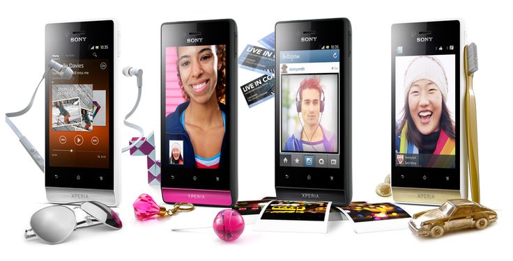 Xperia miro your fun and social Android smartphone