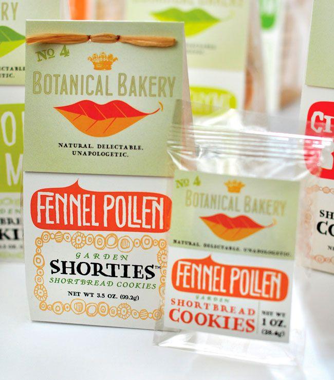 Botanical Bakery packaging: Cookies Packaging, Food Packaging, Bakeries Packaging, Package Design, Botanical Bakeries, Packaging Design, Lips, Graphics Design, Branding Identity