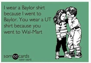 OK....full disclosure.....I am an Aggie........but this is funny.......