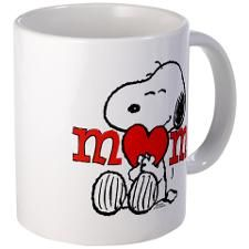 Snoopy Mom Hug Mugs