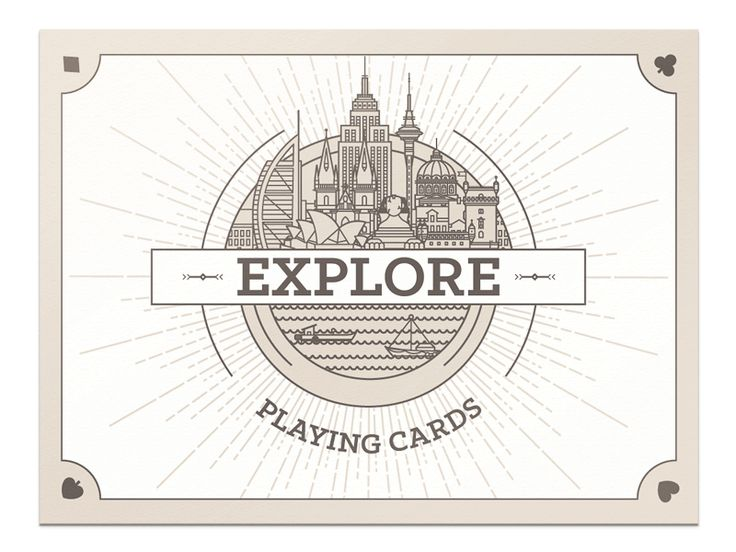 Explore Playing Cards - Kickstarter by Axel Herrmann