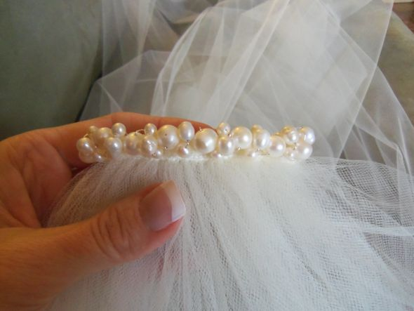 33 best How to Make a Veil images on Pinterest | Budget wedding ...