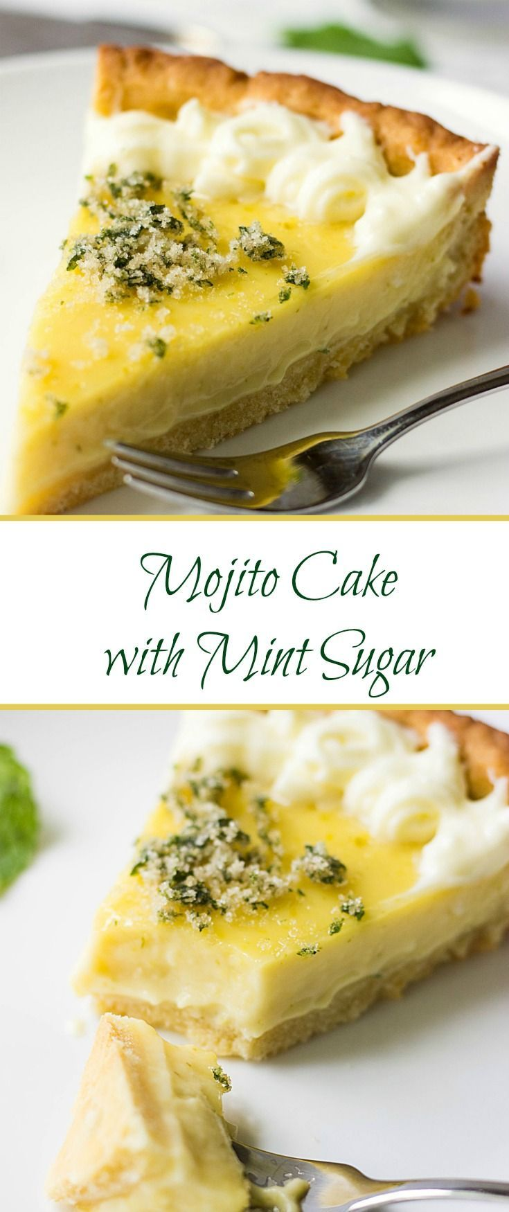 This mouthwatering and scrumptious Mojito cake with Mint Sugar has enough…
