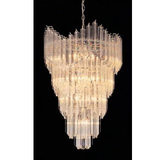 40 best lighting images on pinterest chandelier chandelier triarch international lz149 21 13 light 5 tier chandelier from the lazer acrylic collection aloadofball Image collections