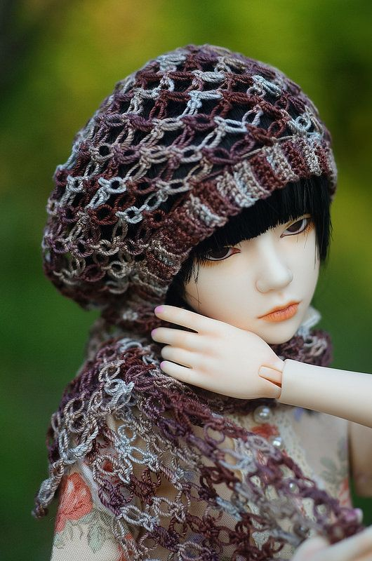 BJD crochet fashion