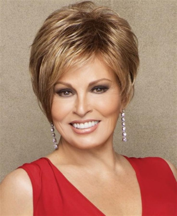 Sexy short hairstyles for women over 60