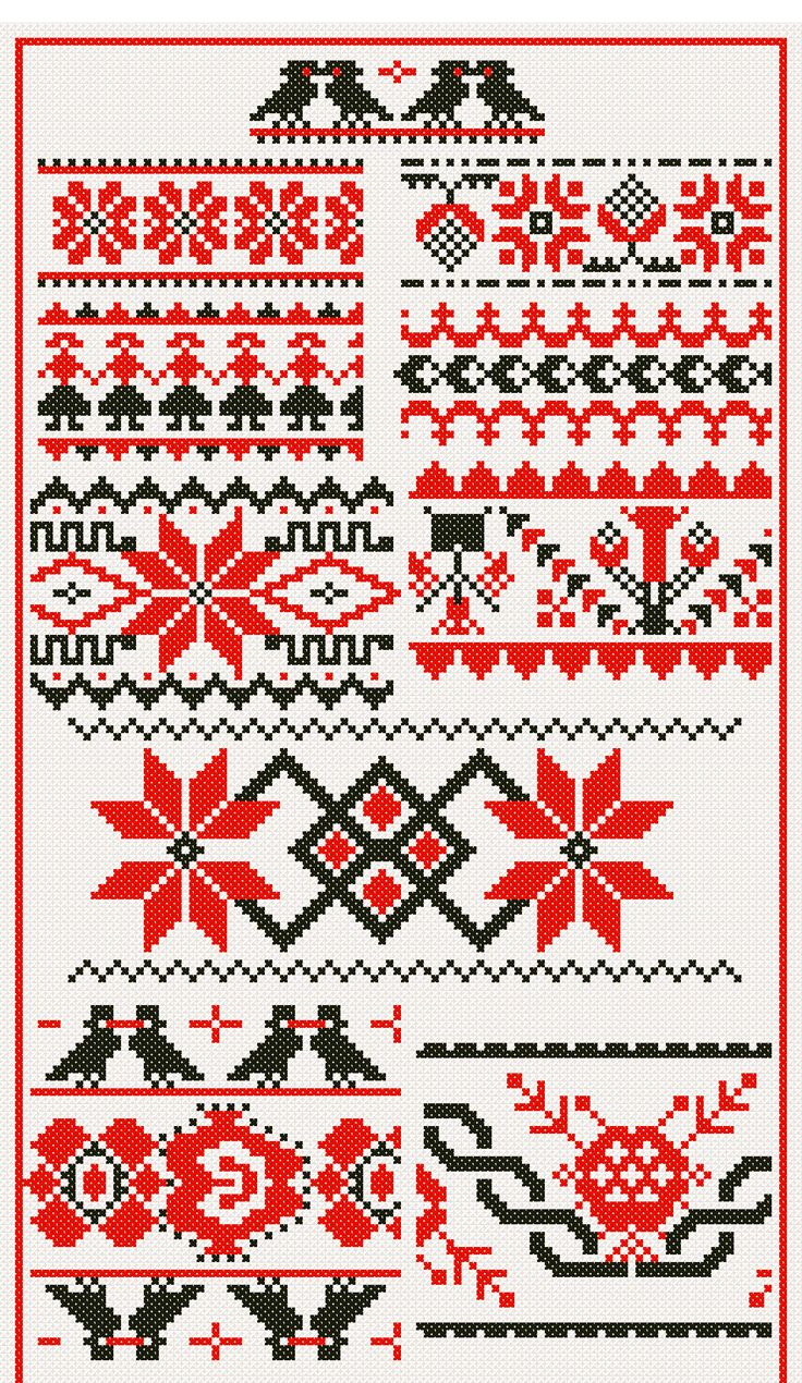 64 Best Hungarian Embroidery Motifs Images On Pinterest