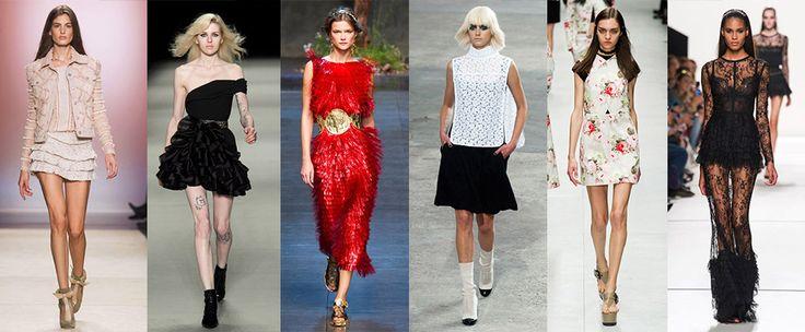 Paris Fashion Week: Spring Collection - minirokjes goed vertegenwoordigd