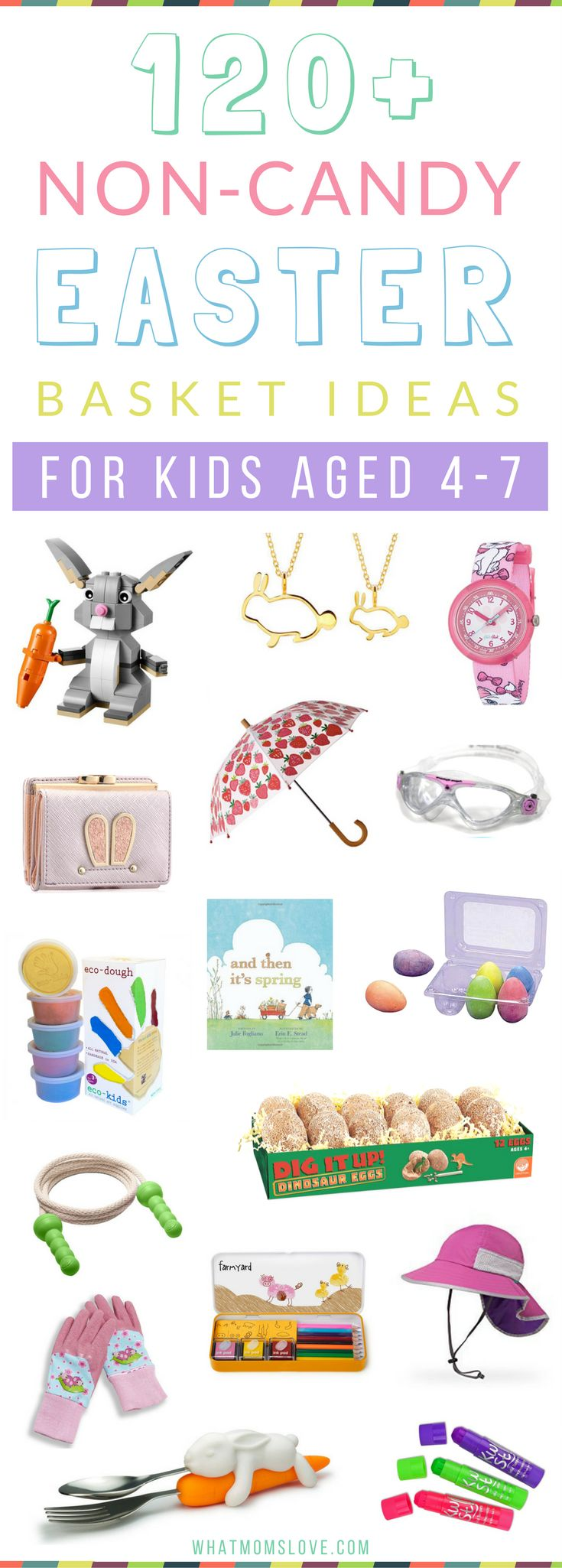 Best 25 unique easter basket ideas ideas on pinterest easter 250 non candy easter basket ideas for kids from babies to teens with no junky stuff negle Gallery